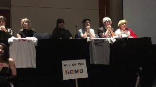 Yuri On Ice Press Conference Panel Animazement 2017
