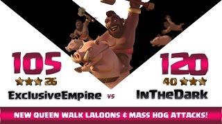 Clash of clans | Exclusive Empire vs InTheDark | 26:40