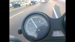 YAMAHA YBR 125, 130 Km Velocidad Maxima