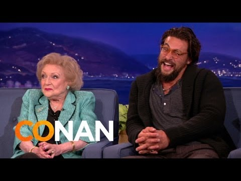 Betty White & Jason Momoa's Sexy Banter