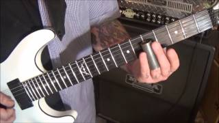 ZZ Top - Tush - CVT Slide Guitar Solo Lesson by Mike Gross - How To Play - Tutorial