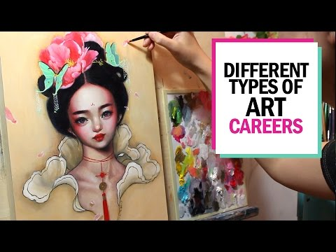 DIFFERENT TYPES OF ART CAREERS 🎨 Studio Sessions Ep. 8