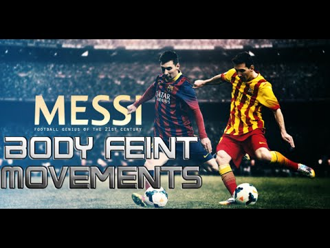 Lionel Messi ●Body Feint Movements ||HD||