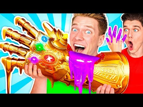 SUPERHERO FOOD ART CHALLENGE & How To Make The Best Giant DIY Edible Avengers Movie Art видео