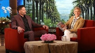 Joe Manganiello Talks 'Magic Mike 2'