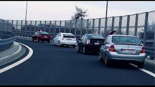 Cztery generacje Toyoty Prius w Warszawie
