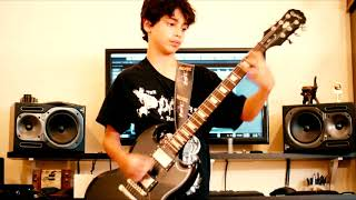 Nirvana - Smells Like Teen Spirit - Guitar Cover by Isaac - Guitar Lessons