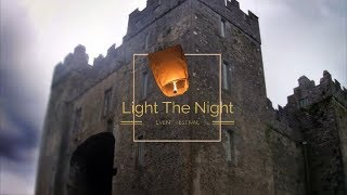 Light The Night Sky Lantern Festival At The Castle