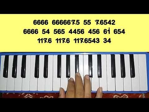 Flashlight jessie j   melodica   pianica notes