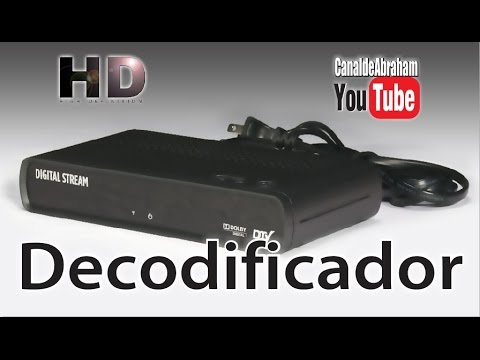 Decodificador o Sintonizador HD Digital Stream