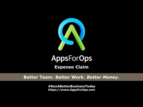AppsForOps Expense Claim