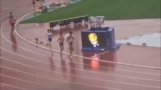 えひめ国体・陸上競技/少年女子共通1500m予選2組、1着:後藤夢(兵庫)4分27秒60
