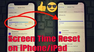 Remove/Clear/ Reset Screen Time Data or Report on iPhone, iPad