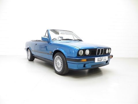 A Fabulous and Very Rare BMW E30 318i Convertible Motorsport Design Edition - SOLD!