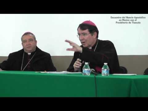 Encuentro del Nuncio Apostólico en México con el presbiterio de Tlaxcala