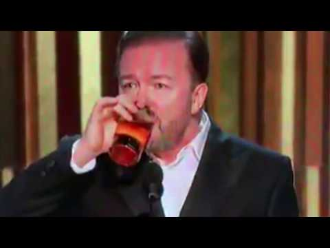Amazing Ricky Gervais Golden Globes Monologue