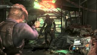 Resident Evil 6 Walkthrough (Leon Campaign) Pt. 19 - I Hate Chinese Zombies