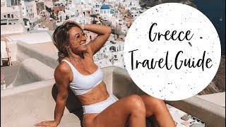 Greece Vacation Vlog | Athens, Santorini, Mykonos