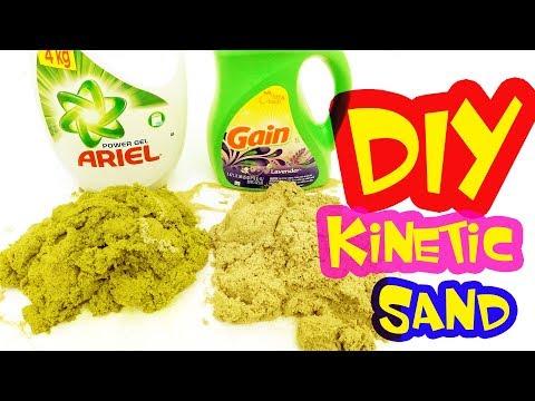 ARIEL & GAIN - DIY Kinetic Sand I New Recipes
