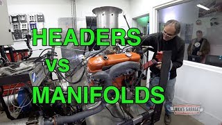 Headers vs Manifolds - 426 Wedge on the Dyno!