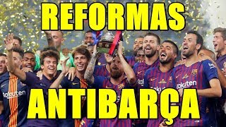 REFORMAN COPA Y SUPERCOPA PARA ACABAR CON EL RECITAL DEL BARÇA EN ESPAÑA: ¡VERGÜENZA!
