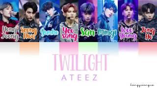 ATEEZ (에이티즈)- Twilight (Color Coded Han/Rom/Eng)