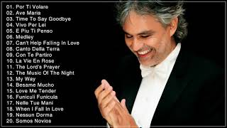 Andrea Bocelli Greatest Hits Full Album Live -- Best Songs Of Andrea Bocelli 2018