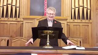 Sunday Sermon 6th November -Remembrance Sunday