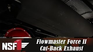 NSF1 Project Jeep Part 21: Flowmaster® Force II Cat-Back Exhaust