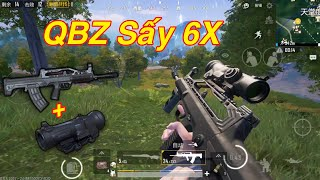 PUBG Mobile | Test QBZ Sấy 6X Scope Cùng M24 Full PK Xịn √