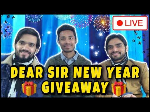 Dear Sir New Year Giveaway