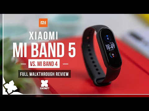 Xiaomi Mi Smart Band 5 (Connected GPS)