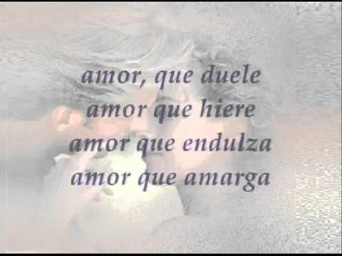 MYRIAM HERNANDEZ  Peligroso amor  LETRA