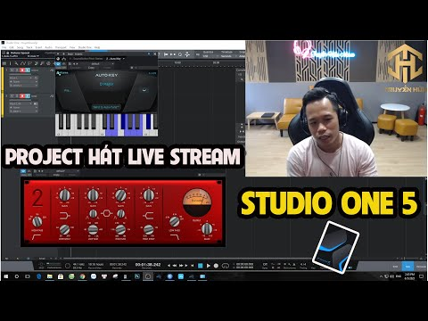 Project Hát Live Stream STUDIO ONE 5 MỚI NHẤT - SÁNG TIẾNG - NGỌT GIỌNG - VERB GẦN XA - HÁT NHẸ