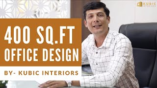Best Small Office Interior Design (Client Review)   Kubic Interiors