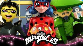 MIRACULOUS   🐞  LA BATAILLE DES MIRACULOUS - Compilation🐞   Les aventures de Ladybug et Chat Noir