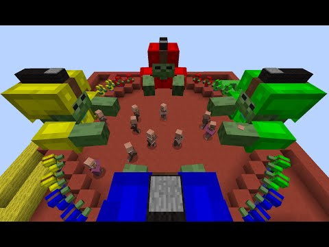Hungry Hungry Zombies -- Minecraft Minigame