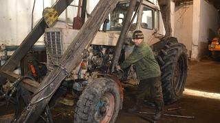 В колхозе Ракитовский на первом месте ремонт техники