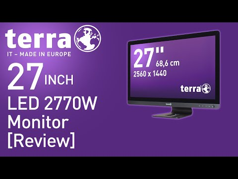 TERRA 27 Inch LED 2770W Monitor Review (2560x1440)