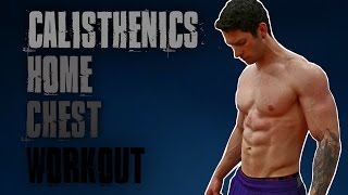 10 Minute Home Chest & Triceps Workout | Follow Along by TA Calisthenics