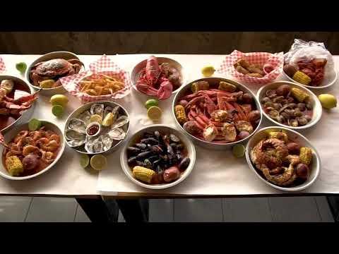 Mr Crab Cajun seafood boiled Champaign Il