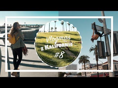 VLOGMAS z KALIFORNIE #8 | Jaká je Venice beach & nákup v Patagonia (Santa Monica)