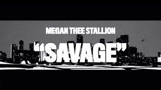 Megan Thee Stallion - Savage (Animated Video)
