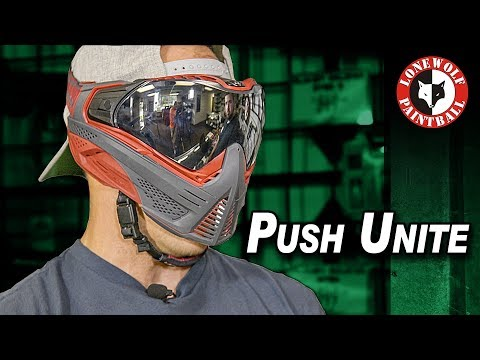 Push Unite Paintball Mask Goggle System w/ Matt Detroit Paintball | Lone Wolf Paintball Michigan