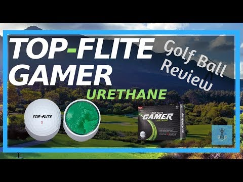 TOP FLITE GAMER URETHANE – Golf Ball Review / What's Inside
