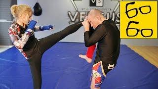 Как поставить удары ногами без спаррингов? Роллинговая тренировка в муай тай от Владислава Коротких