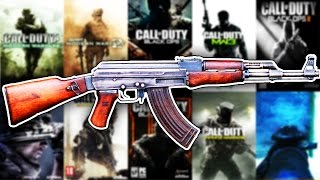 The Evolution Of The AK47 In Every Call Of Duty