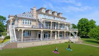 Exquisite 3 Acre Waterfront Estate in Chesapeake, VA