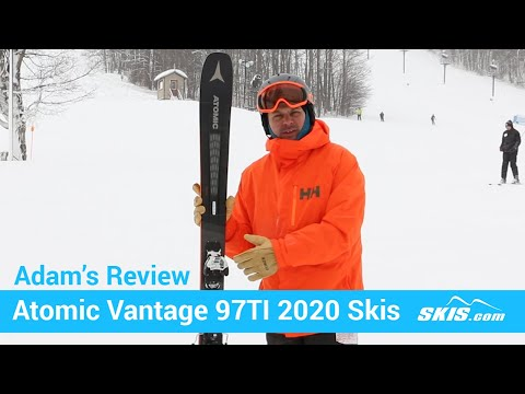 Video: Atomic Vantage 97 TI Skis 2020 1 50