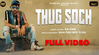Teaser for next music video Thug soch by Running Horses Music' is out
